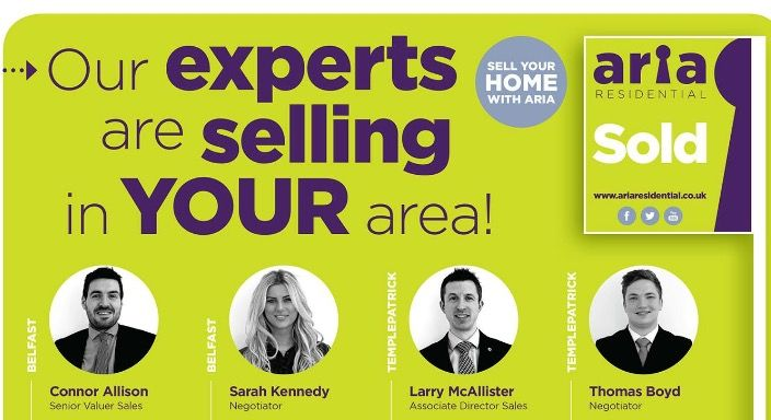 Using Aria To Sell Your House In Templepatrick!